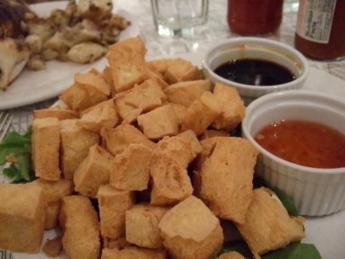 deep-fried tofu